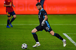 SEVILLE, SPAIN - Tuesday, November 17, 2020: goalkeeper Unai Simon of Spain during the UEFA Nations League match between Spain and Germany at Estadio La Cartuja de Sevilla on november 17, 2020 in Seville, Spain (Photo by Jeroen Meuwsen/Orange Pictures)