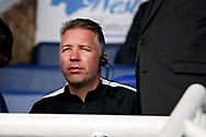 Peterborough Manager Darren Ferguson in the stands before the EFL Sky Bet League 1 match between Peterborough United and Wycombe Wanderers at London Road, Peterborough, England on 2 March 2019.