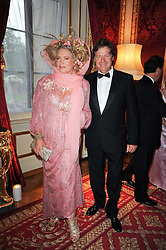 KATHERINE BOORMAN and DANNY MOYNIHAN at a dinner hosted by HRH Prince Robert of Luxembourg in celebration of the 75th anniversary of the acquisition of Chateau Haut-Brion by his great-grandfather Clarence Dillon held at Lancaster House, London on 10th June 2010.