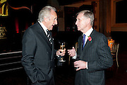 HAROLD TILLMAN; TERRY MANSFIELD, Harpers Bazaar Women of the Year Awards. North Audley St. London. 1 November 2010. -DO NOT ARCHIVE-© Copyright Photograph by Dafydd Jones. 248 Clapham Rd. London SW9 0PZ. Tel 0207 820 0771. www.dafjones.com.