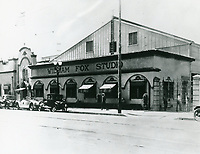 1922 William Fox Studios in Hollywood