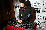 DJ Victor Duplex at The Black House during the 2008 Sundance Film Festival. ..HISTORY..The Blackhouse Foundation was created in 2007 by a group of dedicated individuals interested in black cinema - preserving and furthering its legacy. Black House works to provide a platform for African American filmmakers to use their voice to tell stories by and about African Americans in the world of independent and feature films...Black filmmakers made history in 2007, the year The Blackhouse Foundation launched the Blackhouse® venue at the 2007 Sundance Film Festival.  Blackhouse® played host to over 150 daily visitors with more than 1,200 people visiting the venue throughout the festival.  Blackhouse® was open to the public throughout the day, hosted workshops, a legendary nightly cocktail hour, a marquee party for Our Stories Films, LLC and launched a landmark fellows program for young, aspiring filmmakers.  ..MISSION..The mission of the Blackhouse Foundation is to expand opportunities for Black filmmakers by providing a physical venue for our constituents at the world's most prominent film festivals and creating a nucleus for continuing support, community, education and knowledge.  .