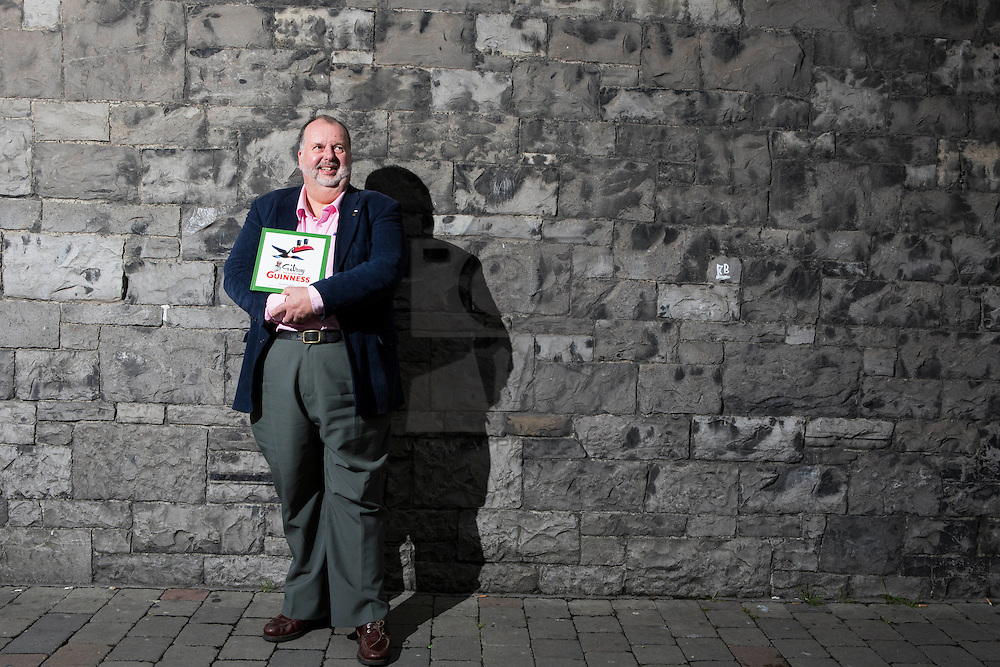 David Hughes, author of, Gilroy was good for Guinness. Picture Andres Poveda