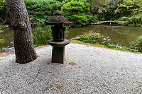 Hakusa Sonso Pond Garden - Hakusasonso Garden was built over a period of 32 years on land that was formerly rice fields. The expansive garden includes many elements found in Japanese gardens: stone lanterns, water basins, and statues. Paths ofstepping stoneslead through mossy, thatched gates over small bridges and among the pieces of historic stonework. The 10,000-square meter site contains buildings such as a large studio he used for large works, a teahouse, and a personal Buddhist temple. There are also many works of stone art from the Heian to Kamakura periods. The garden was built by Hashimoto Kansetsu, an artist who was a member of the Kyoto art world from 1913 to 1945. The scenery in the garden changes throughout the four seasons, resembling the landscapes painted by Kansetsu. He possessed knowledge of ancient Japanese and Chinese classical history, as well as ancient and modern calligraphy art and poetry.  After deciding to become an artist he produced paintings incorporating the styles of various schools from inside and outside Japan. He is also known for creating many gardens throughtout his life though this garden is considered his best work. Hakusasonso garden was designated as a National Site of Scenic beauty by the Japanese government.