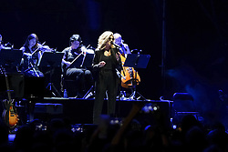July 23, 2019 - Madrid, Spain - United States jazz singer Melody Gardot performs on stage during Las Noches Del Botanico at the Royal Botanical Garden of Alfonso XIII on July 22, 2019 in Madrid, Spain  (Credit Image: © Oscar Gonzalez/NurPhoto via ZUMA Press)