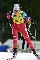 Skiskyting, 11. desmeber 2003, Liv Grete Skjelbreid Poiree (NOR), Norge Biathlon Norwegen<br /> Weltcup Hochfilzen 10 km Sprint