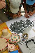 Black Pearl sales, Mataiva, Tuamotus, French Polynesia<br />