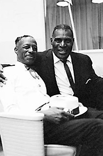 Son House and Howling Wolf, Burbank, CA, 1961