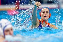 21-01-2020 HUN: European Water polo Championship, Budapest <br /> Slovakia - Netherlands 2—32 / Dagmar Genee #3 of Netherlands during LEN European Aquatics Waterpolo on January 21, 2020. SVK vs Netherlands in Duna Arena in Budapest, Hungary