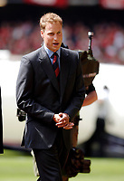 Photo: Daniel Hambury.<br />Liverpool v West Ham United. The FA Cup Final. 13/05/2006.<br />HRH Prince William, president of the FA who met the teams before kick off.