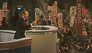 Governor Mario Cuomo speaking  at the Democratic Convention in 1992..Photograph by Dennis Brack bb24