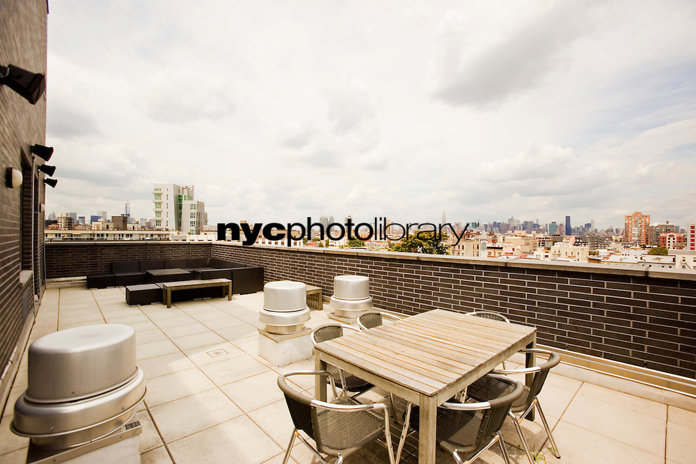 Roof Deck at 105 Ainslie Street