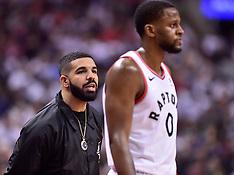 Toronto Raptors vs. Cleveland Cavaliers 1 May 2017