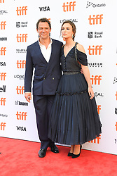 September 11, 2018 - Toronto, Ontario, Canada - DOMINIC WEST (L) and KEIRA KNIGHTLEY attends 'Colette' premiere during the 2018 Toronto International Film Festival at Princess of Wales Theatre on September 11, 2018 in Toronto, Canada (Credit Image: © Igor Vidyashev/ZUMA Wire)