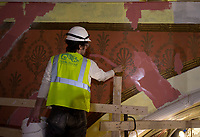 Colonial Theater restoration.  ©2020 Karen Bobotas Photographer