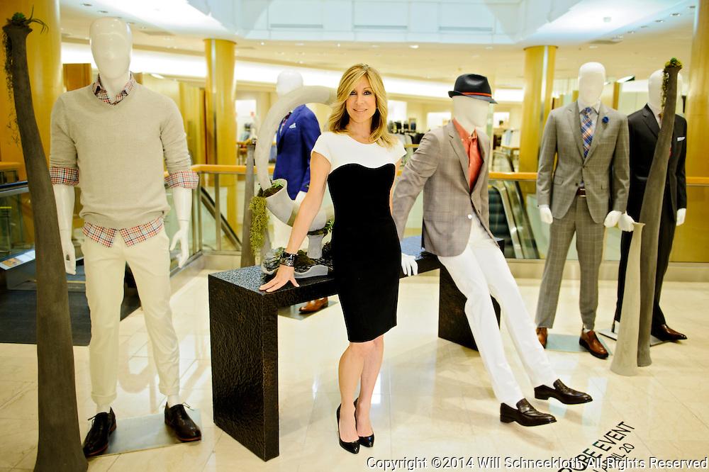 Saks Fifth Avenue Short Hills General Manager Karyn Benvenuto on April 2, 2014 at Saks Fifth Avenue in Short Hills, New Jersey.