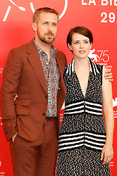 August 29, 2018 - Venice, Venetien, Italy - Ryan Gosling and Claire Foy during the 'First Man' photocall at the 75th Venice International Film Festival at the Palazzo del Casino on August 29, 2018 in Venice, Italy (Credit Image: © Future-Image via ZUMA Press)