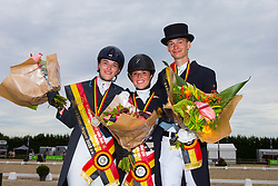 Prijsuitreiking U25<br /> Flanders Dressage Event 2018<br /> © DigiShots