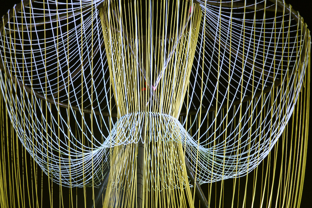 Exhale Pavilion Art Basel Miami Beach 2010. Designed by Phu Hoang and Rachely Rotem