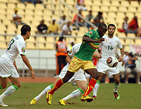 FOOTBALL - AFRICAN NATIONS CUP 2010 - GROUP A - ALGERIA v MALI - 14/01/2010 - PHOTO MOHAMED KADRI / DPPI - MUSTAPHA YATABARE (MALI)