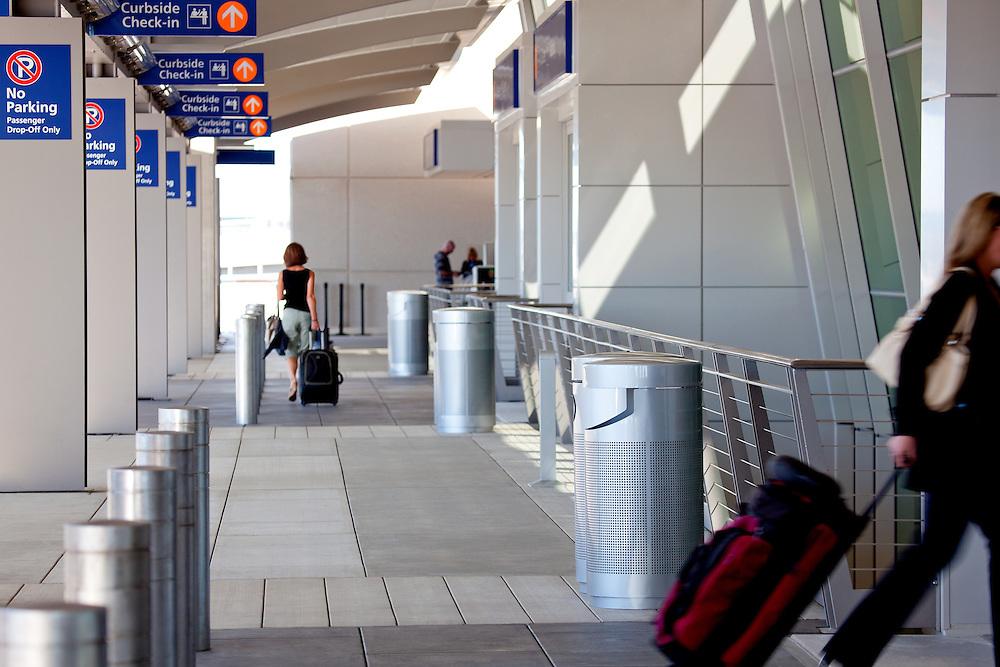 Terminal B Sacramento International Airport, CA.