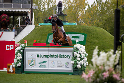 Schuttert Frank, NED, Queensland E<br /> Spruce Meadows Masters - Calgary 2019<br /> © Dirk Caremans<br />  08/09/2019