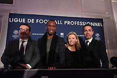 LFP AG de la ligue Press Conference - 15 Dec 2017