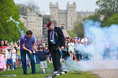 2019-04-22 Queen's 93rd birthday 21-gun salute