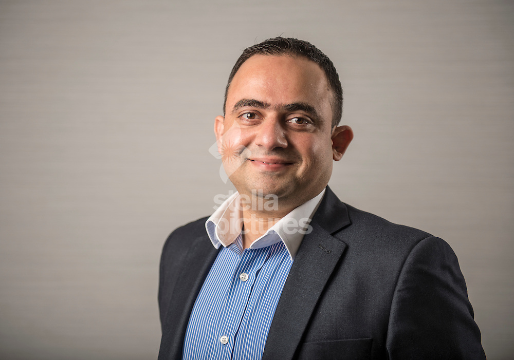 Uber driver Farrukh Alladin at Uber HQ, Aldgate, London. <br /> Picture by Daniel Hambury/Stella Pictures Ltd +44 7813 022858<br /> 06/06/2016