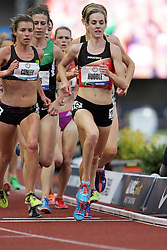 Olympic Trials Eugene 2012: women's 5000 meters, Molly Huddle, 2nd, makes Olympic team