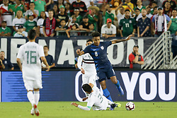 September 11, 2018 - Nashville, Tennessee, United States - Nashville, TN - Tuesday September 11, 2018: The men's national teams of the United States (USA) and Mexico (MEX) played an international friendly at Nissan Stadium. (Credit Image: © John Dorton/ISIPhotos via ZUMA Wire)