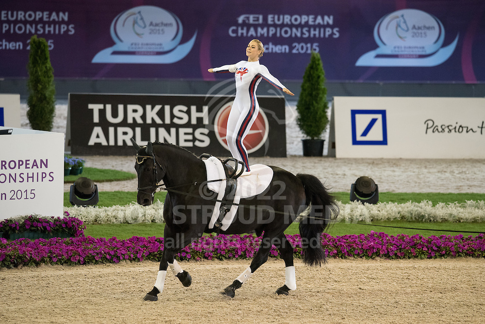 Hannah Young (GBR)  - FEI European Championships 2015 - Compulsory Individual Female Test - Aachen, Germany - 20 August 2015