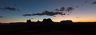 Monument Valley, Utah, sunset