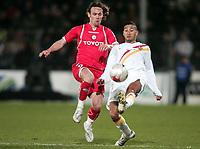Fotball<br /> Frankrike<br /> Foto: DPPI/Digitalsport<br /> NORWAY ONLY<br /> <br /> FOOTBALL - FRENCH CHAMPIONSHIP 2007/2008 - L1 - VALENCIENNES FC v RC LENS - 23/01/2008 - NADIR BELHADJ (LEN) / STEVE SAVIDAN (VAL)