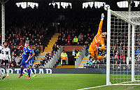 Football - 2018 / 2019 Premier League - Fulham vs. Cardiff City<br /> <br /> Sergio Rico of Fulham makes a finger tip save , at Craven Cottage.<br /> <br /> COLORSPORT/ANDREW COWIE