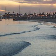 View of the Marina. Santa Barbara, CA.