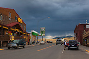 Gardiner, Montana, the north west gateway town to Yellowstone National Park.
