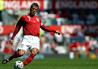 Photo: Paul Thomas.<br /> England v Jamaica. International Friendly. 03/06/2006.<br /> <br /> David Beckham.