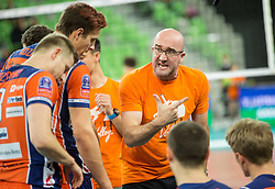 Bogdan Kotnik, head coach of ACH during volleyball match between ACH Volley (SLO) and Lotos Trefl Gdansk (POL) in 3rd Leg of Pool F of 2016 CEV DenizBank Volleyball Champions League, on December 3, 2015 in Arena Stozice, Ljubljana, Slovenia. Photo by Vid Ponikvar / Sportida