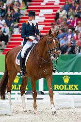 Adelinde Cornelissen, (NED),  Jerich Parzival - Grand Prix Special Dressage - Alltech FEI World Equestrian Games™ 2014 - Normandy, France.<br /> © Hippo Foto Team - Leanjo de Koster<br /> 25/06/14