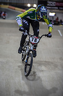 #78 (REIS SANTOS Paola) BRA during practice at the 2019 UCI BMX Supercross World Cup in Manchester, Great Britain