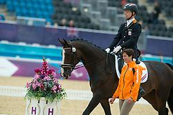 Bolmer Gert (NED) - Vorman<br /> Team Test - Grade II - Dressage <br /> London 2012 Paralympic Games<br /> © Hippo Foto - Jon Stroud
