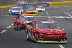 May 26, 2018 - Concord, North Carolina, United States of America - Ross Chastain (4) brings his race car down the front stretch during the Alsco 300 at Charlotte Motor Speedway in Concord, North Carolina. (Credit Image: © Chris Owens Asp Inc/ASP via ZUMA Wire)
