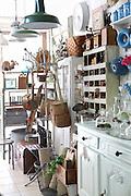 Antique shop. Photographed in Tel Aviv, israel
