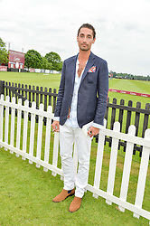 HUGO TAYLOR at the Cartier Queen's Cup Final 2016 held at Guards Polo Club, Smiths Lawn, Windsor Great Park, Egham, Surry on 11th June 2016.