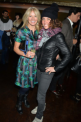 Left to right, KELLY COOPER BARR and TARA SMITH at a party to launch Madderson London Women's Wear held at Beaufort House, 354 Kings Road, London on 23rd January 2014.