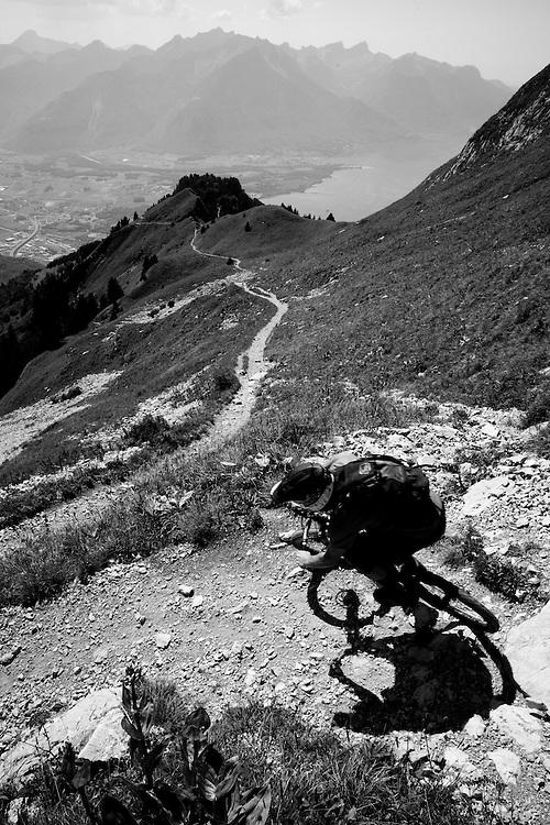 Rider: Ben Walker Location: Rocher de Naye (Switzerland)