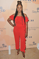 Garcelle Beauvais arrives at Step Up's 14th Annual Inspiration Awards held athe Beverly Hilton in Beverly Hills, CA on Friday, June 2, 2017. (Photo By Sthanlee B. Mirador) *** Please Use Credit from Credit Field ***