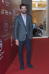 October 18, 2016 - Madrid, Spain - Miguel Ángel Muñoz in the Presentation of the TV show Celebrity MasterChef in Madrid on 18 October 2016. (Credit Image: © Oscar Gonzalez/NurPhoto via ZUMA Press)