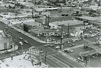 1971 Looking NE at Santa Monica Blvd. and La Brea Ave.